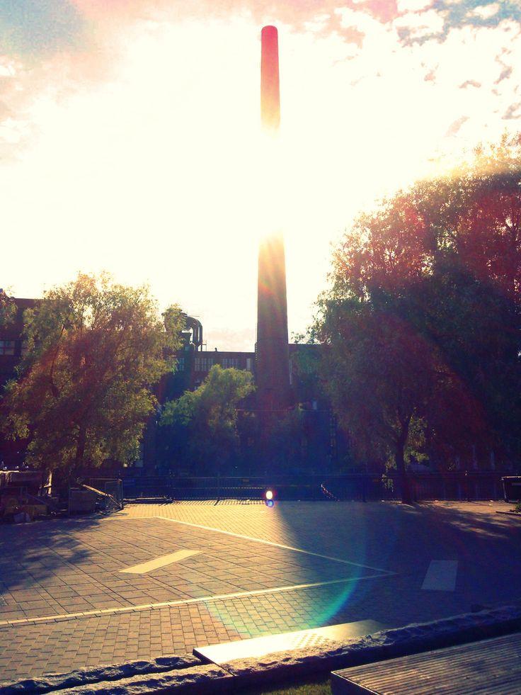 #tampere #tammerfors #city #summer #koskipuisto #power #plant