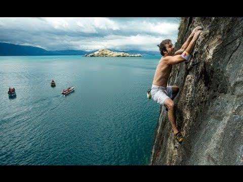 Deep water soloing in Malta. - Patagonia deep-water soloing - Red Bull Psicobloc 2012