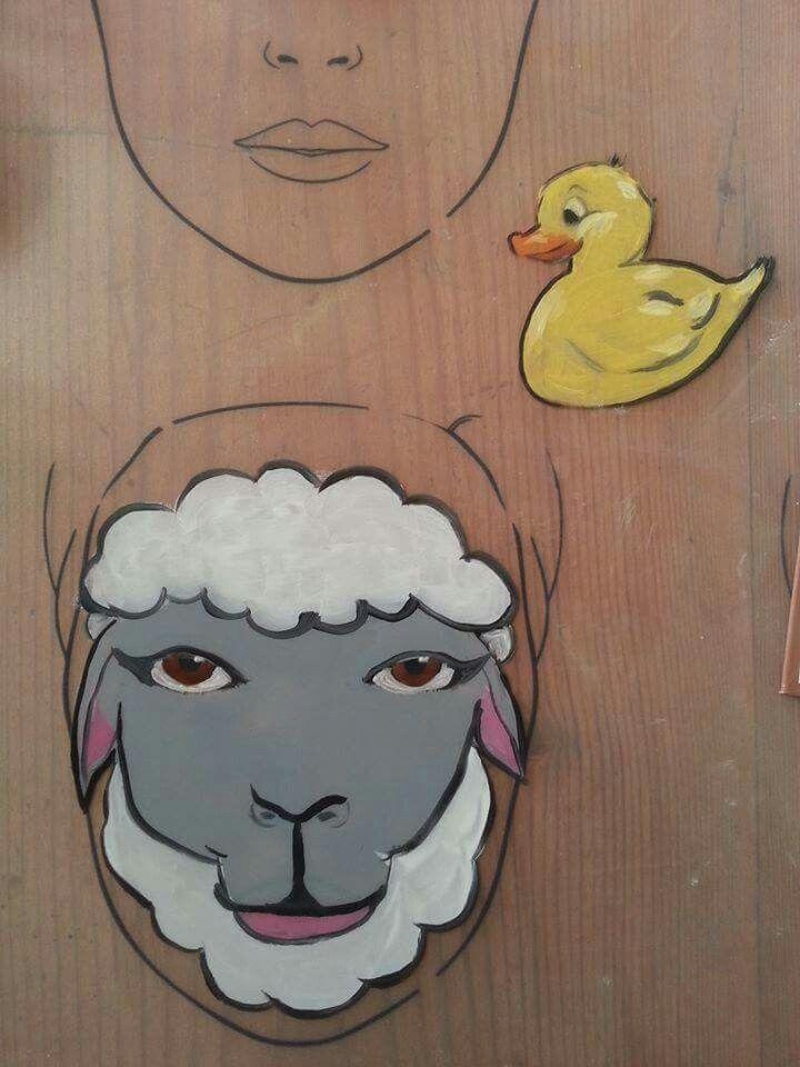 Pin von Lucy Jayne auf Face Paint Animals | Face paint ...