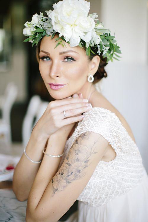 Bridal Shower Flower crown