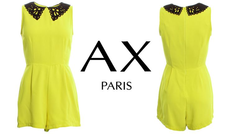 Up your style stakes with a pop of colour! Get this AX Paris Jumpuit here ..