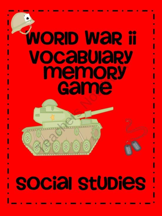 World History World War 2 Unit 12 vocabulary