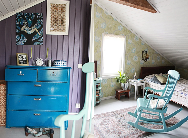 violet and blue: One Day, Countryside, Blue, Violets, Ja Uk, Guest Rooms, Kids Rooms