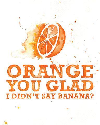 Gluten Free Banana Pancake ❤️ Orange ❤️