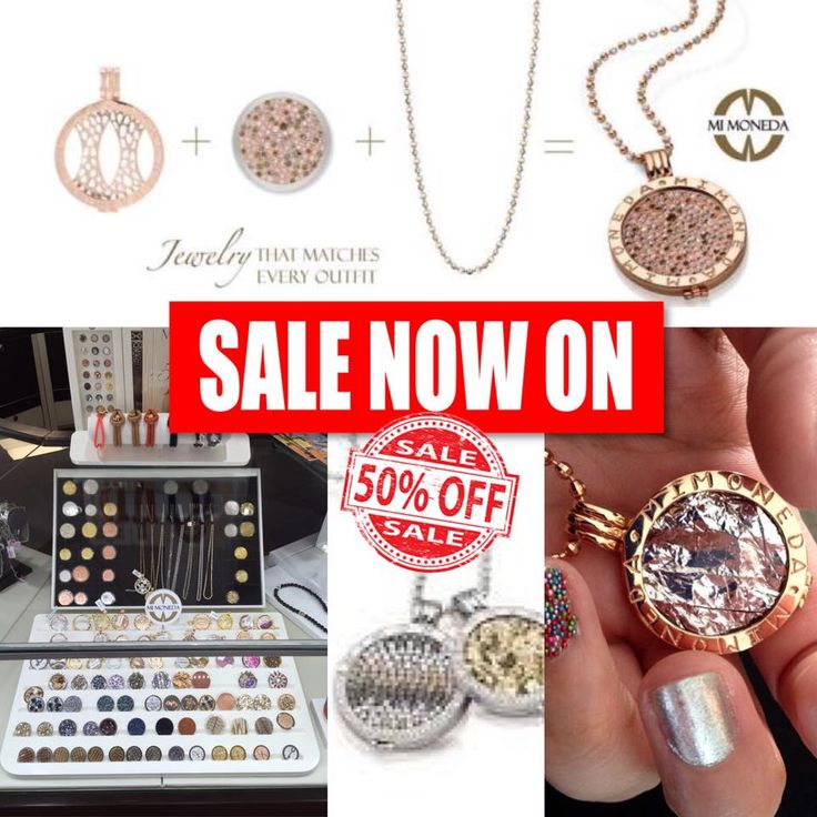 All Mi Moneda jewelry is 50% off - FREE SHIPPING!