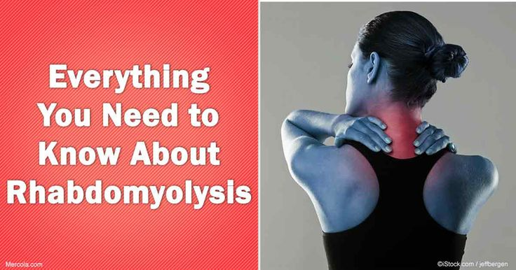 Learn about rhabdomyolysis, its causes, symptoms and treatment to prevent it from happening in the future.