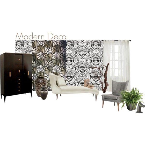"""Modern Deco"" by essenceve on Polyvore"