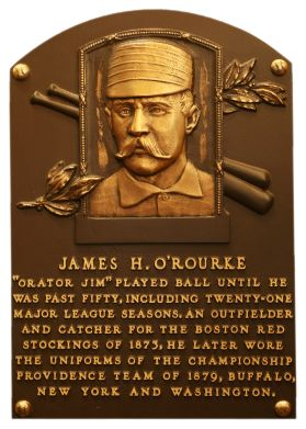 O'Rourke, Jim   Baseball Hall of Fame   1945