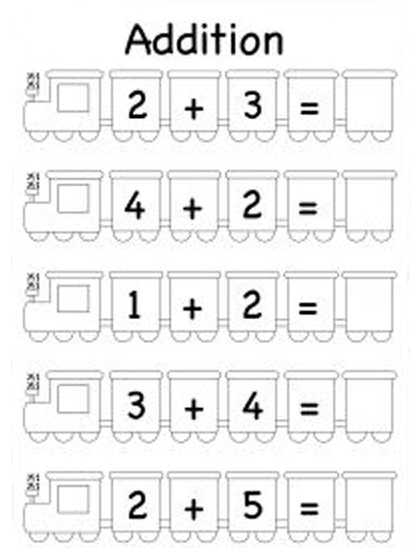 Touch Point Math Addition Worksheets 001 Kindergarten Subtraction Worksheets Kindergarten Math Worksheets Math Addition Worksheets