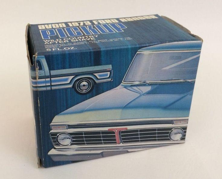Ford Ranger Truck Decanter Avon 1973 Wild Country in Box Decals Full Vintage #Avon