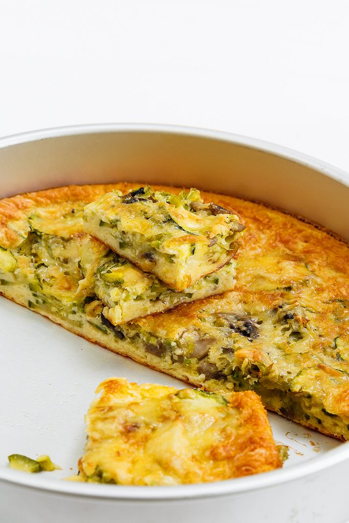 Clafoutis with leek and zucchini Anna-Maria Barouh http://www.instyle.gr/recipe/clafoutis-me-lachanika/
