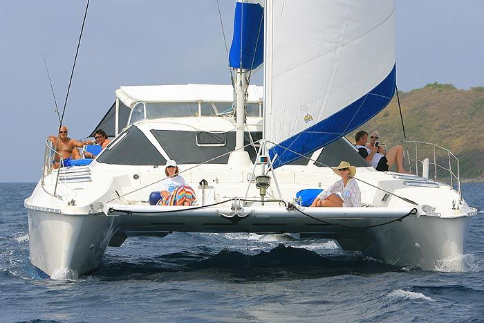 The S/V Marolanga is a USVI based charter business and ...