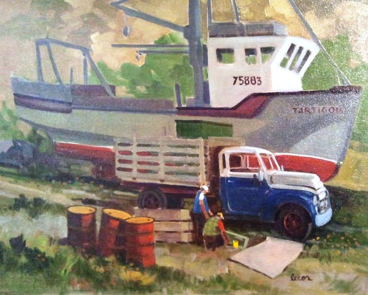 Chevrolet 58 Matane, Paul Tex Lecor