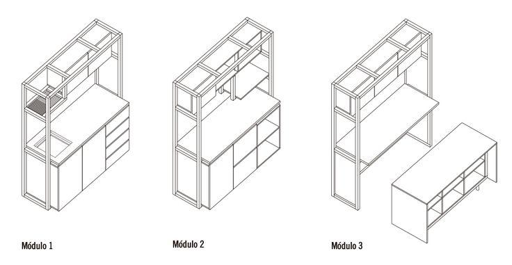 ¿Cómo construir una cocina modular?