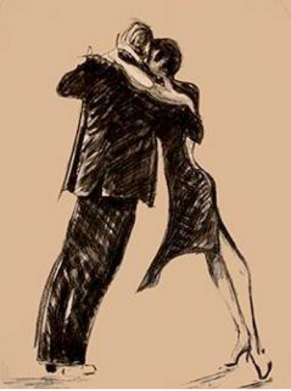 tango - wow, a picture that captures what tango really is like to dance.