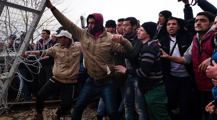 mini.press: Οι μετανάστες αλλάζουν πύλη και ο κίνδυνος ελλοχεύ...