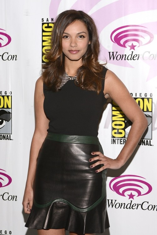 Jessica Lucas at 2013 WonderCon - Day 2 at the Anaheim Convention Center in Anaheim on March 30, 2013