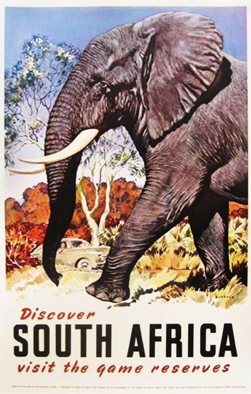 Vintage Travel Posters South Africa | The Travel Tester