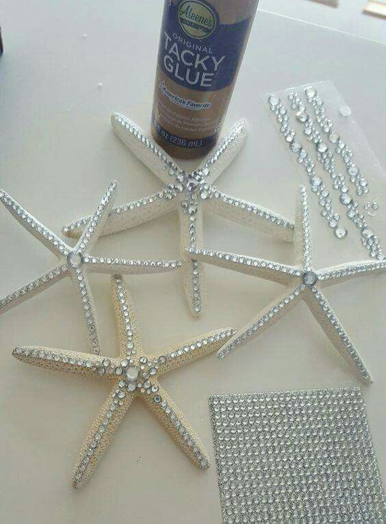 Do this with salt dough starfish -- students can decorate