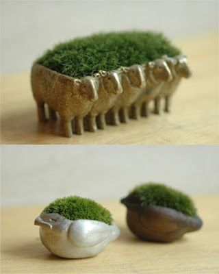 Miniature planters