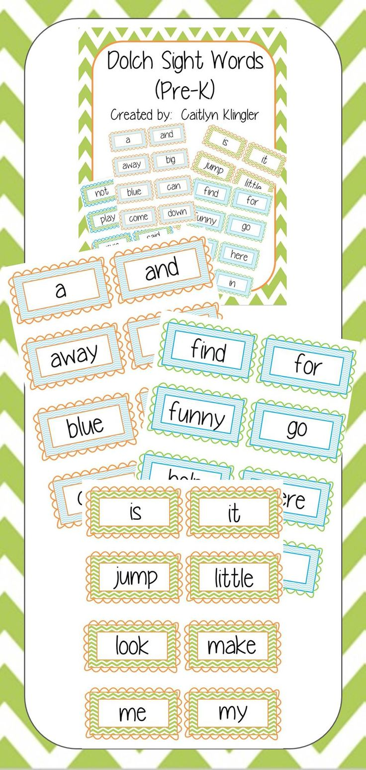 Best 25 chevron word walls ideas on pinterest word wall letters chevron dolch sight words pre k sciox Gallery