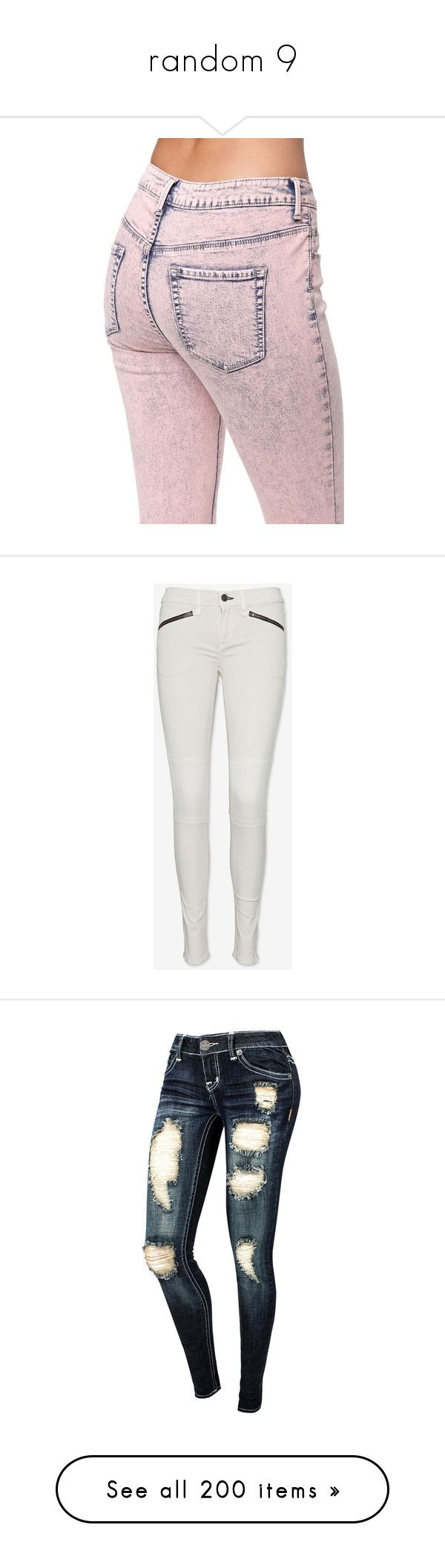 """""""random 9"""" by resi748 ❤ liked on Polyvore featuring jeans, pants, coral, high rise jeans, high-waisted skinny jeans, stretch jeans, pink skinny jeans, high waisted acid wash jeans, bottoms and pantalones"""