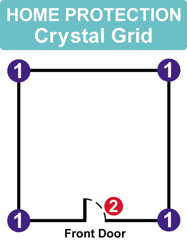 419 Best Cristal Grid Images On Pinterest Crystal Grid