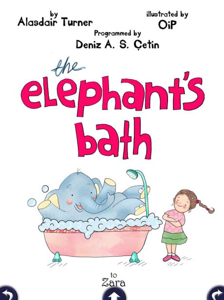 Elephant's Bath HD for iPad - Digital Storytime's Review
