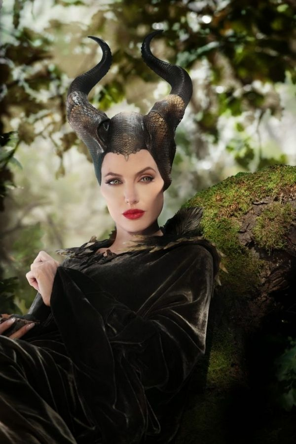 Maleficent ❤ gosh Angelina Jolie was so amazing in this movie and she was as stunning as ever!