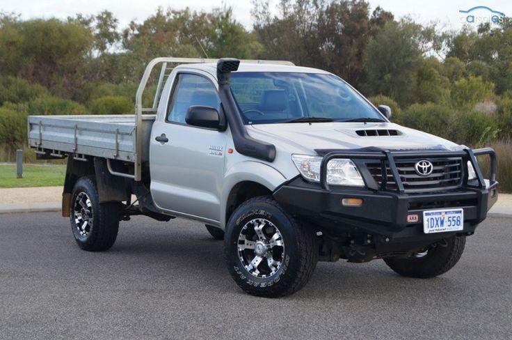 2012 Toyota Hilux KUN26R SR MY12