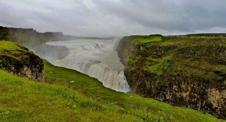 Gullfoss Waterfall,Iceland