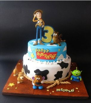 Gâteau Toy story 2                                                                                                                                                                                 Plus
