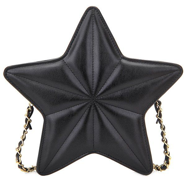 Wholesale Chic Star Shape and Chains Design Crossbody Bag For Women Only $9.25 Drop Shipping | TrendsGal.com