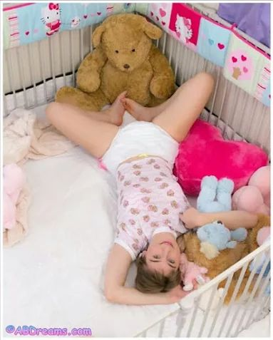 Quot Adult Baby Girls Wearing Diapers Quot Di 2019