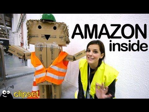 Un día en el almacén de Amazon España - YouTube