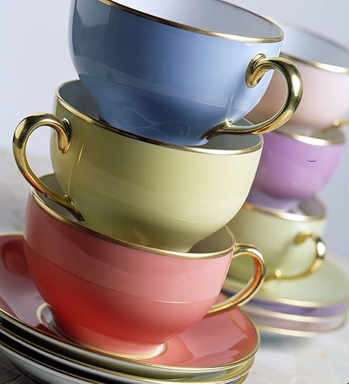 Limoges Cups  Saucers