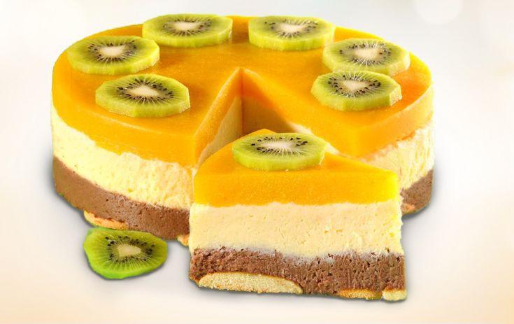 Nepečená Broskyňová torta | mňamky-recepty.sk |na každý deň