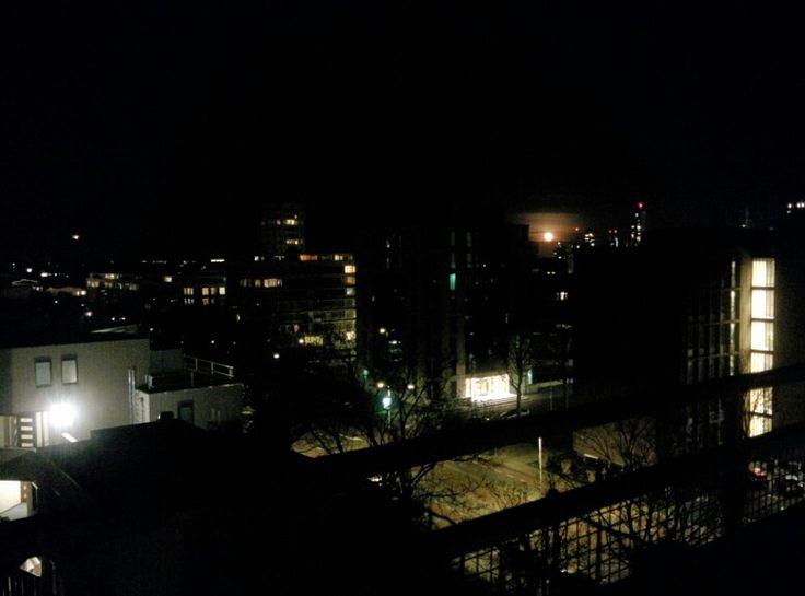 Full moon, Den Haag