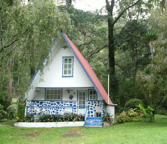 A Frame Home  | The Golden Frog Inn Villa Rana Dorada El Valle De Anton Panama 2015 ...