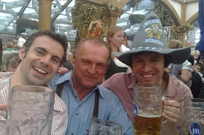 Booking Oktoberfest Tickets and Table