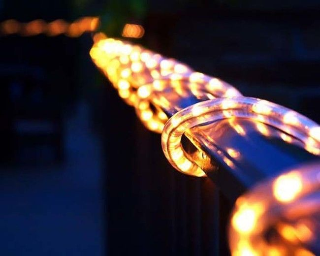 Best 25 Outdoor rope lights ideas on Pinterest Walkway lights
