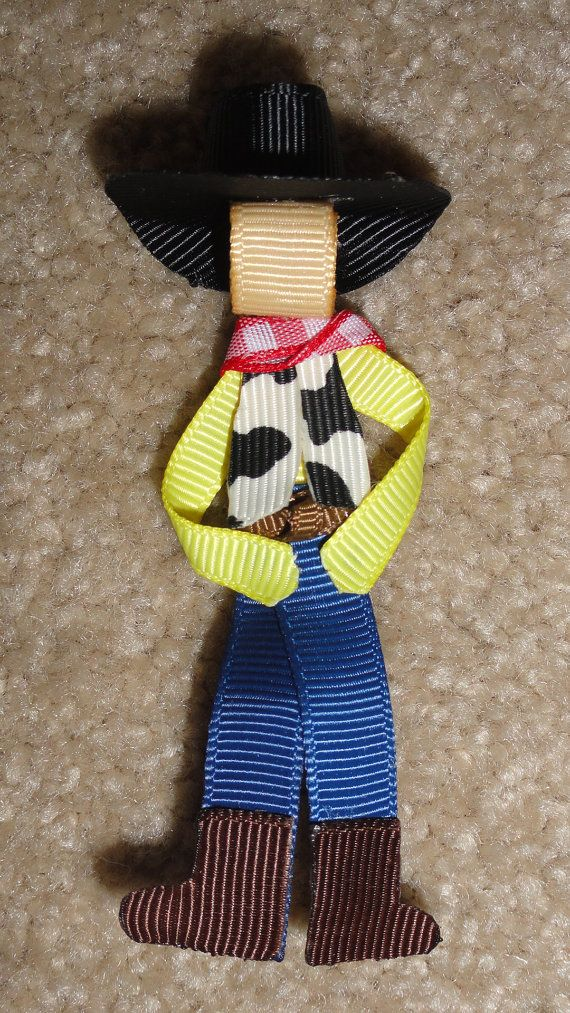 Bullseye the horse from Disney Toy Story Hair Bow by 4littlecuties, $4.00