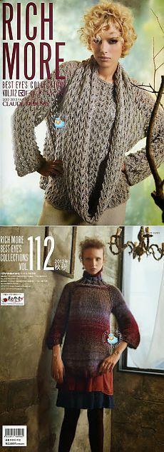 fanatica del tejido: RICH MORE, 2012/2013