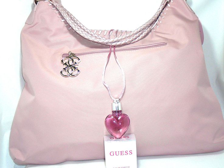 """Parfum Guess Pink   Guess Sexy in Pink Large Tote 10""""x 13"""" x16"""" x7"""" Plus 7 5 ml Pink Eau de Parfum   #Guess http://drparfume.com/parfum-guess-pink/#EauDeParfume #perfume #eaudetoillet #drparfume #parfumwanita #parfumpria #guesspink"""