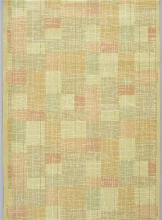 1940s New Zealand designed and made wallpaper - Museum of New Zealand Te Papa Tongarewa