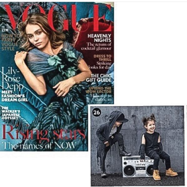 Vogue.Whaaaaaat? We've been in Vogue?No we're asking, because it still seems crazy. Having two Lil' streetwear clad legends in Vogue magazine was a highlight for Lil' Mr, especially because hiphop style doesn't always translate to fash...