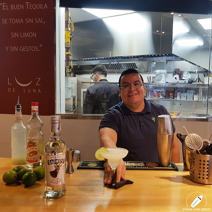 """Rica """"Margarita de Casa"""" del gran bartender Eduardo Palacios de la que no tardaremos en disfrutar     #CopasConEstilo #Bartender #Cocktail #Coctelería #Cóctel #Cócteles #Madrid"""