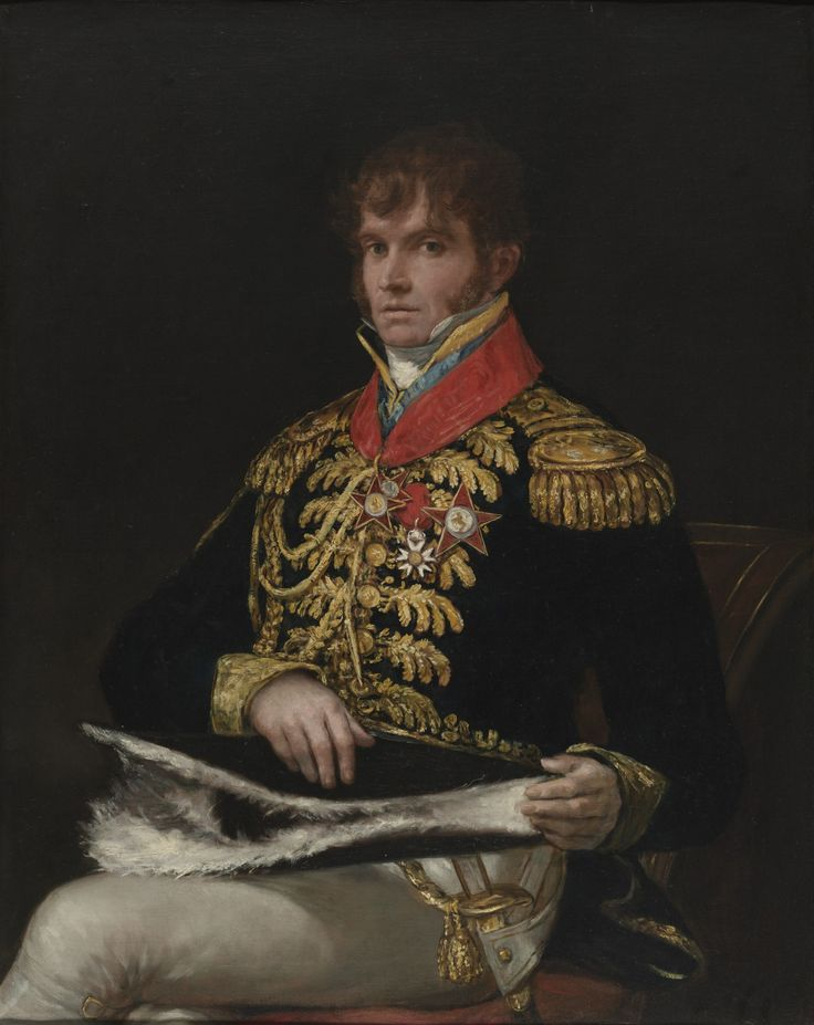 Property of the Virginia Museum of Fine Arts | General Nicholas Philippe Guye | 1810 |  Francisco Goya | oil on canvas