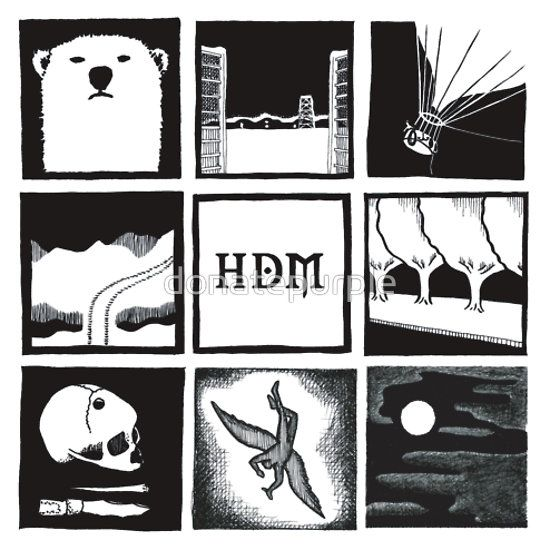 Minimalistic: His Dark Materials Square by donatepurple  @Connie Likes