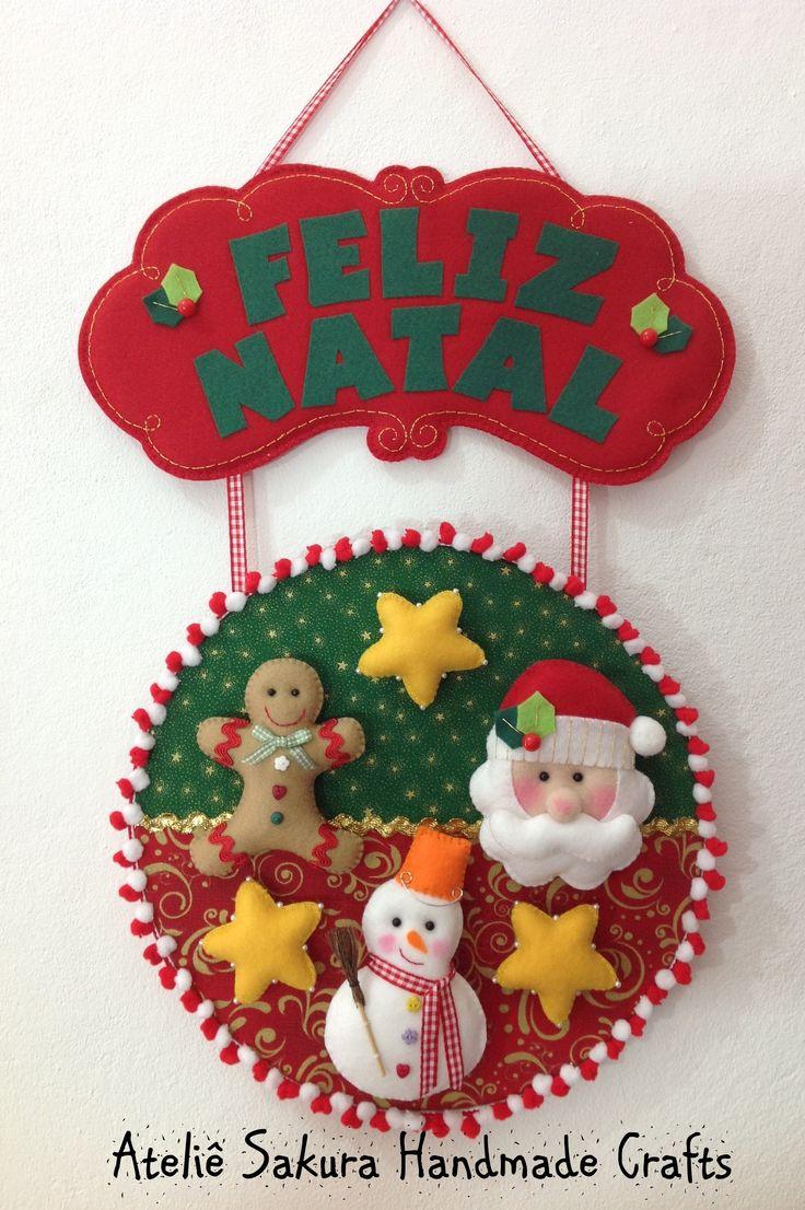 Enfeite Porta de Entrada Natal DISPONÍVEL PRONTA ENTREGA